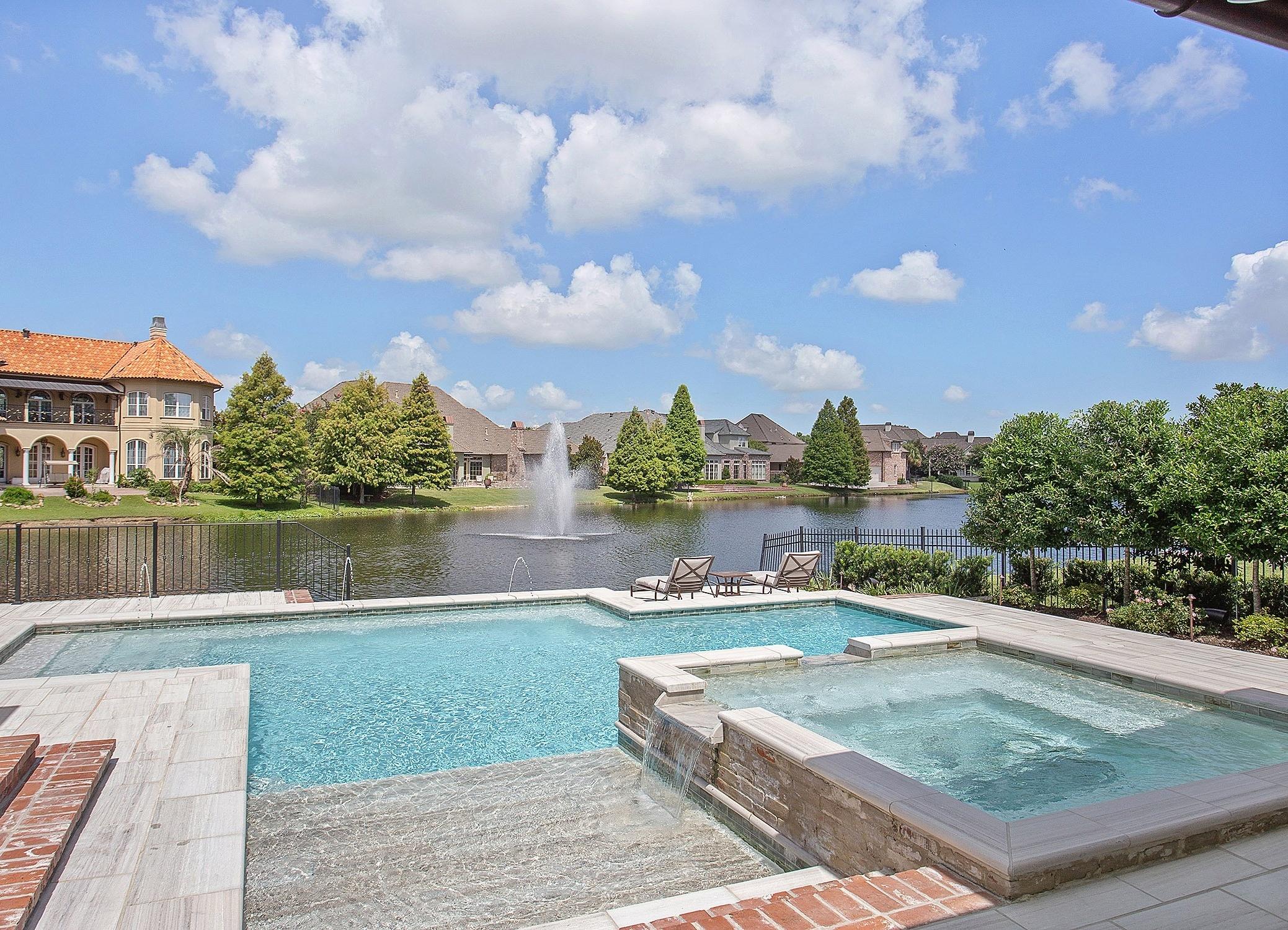 Lucas Firmin Luxury Pool in Bocage Lakes