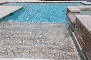 water feature pool