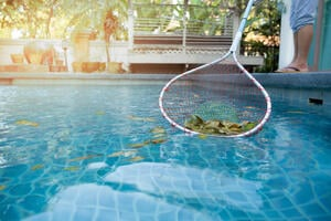 pool maintenance for fall