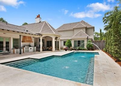 Pool in Longwood Baton Rouge
