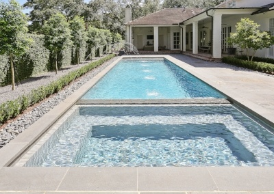 Pool with Flush Spa