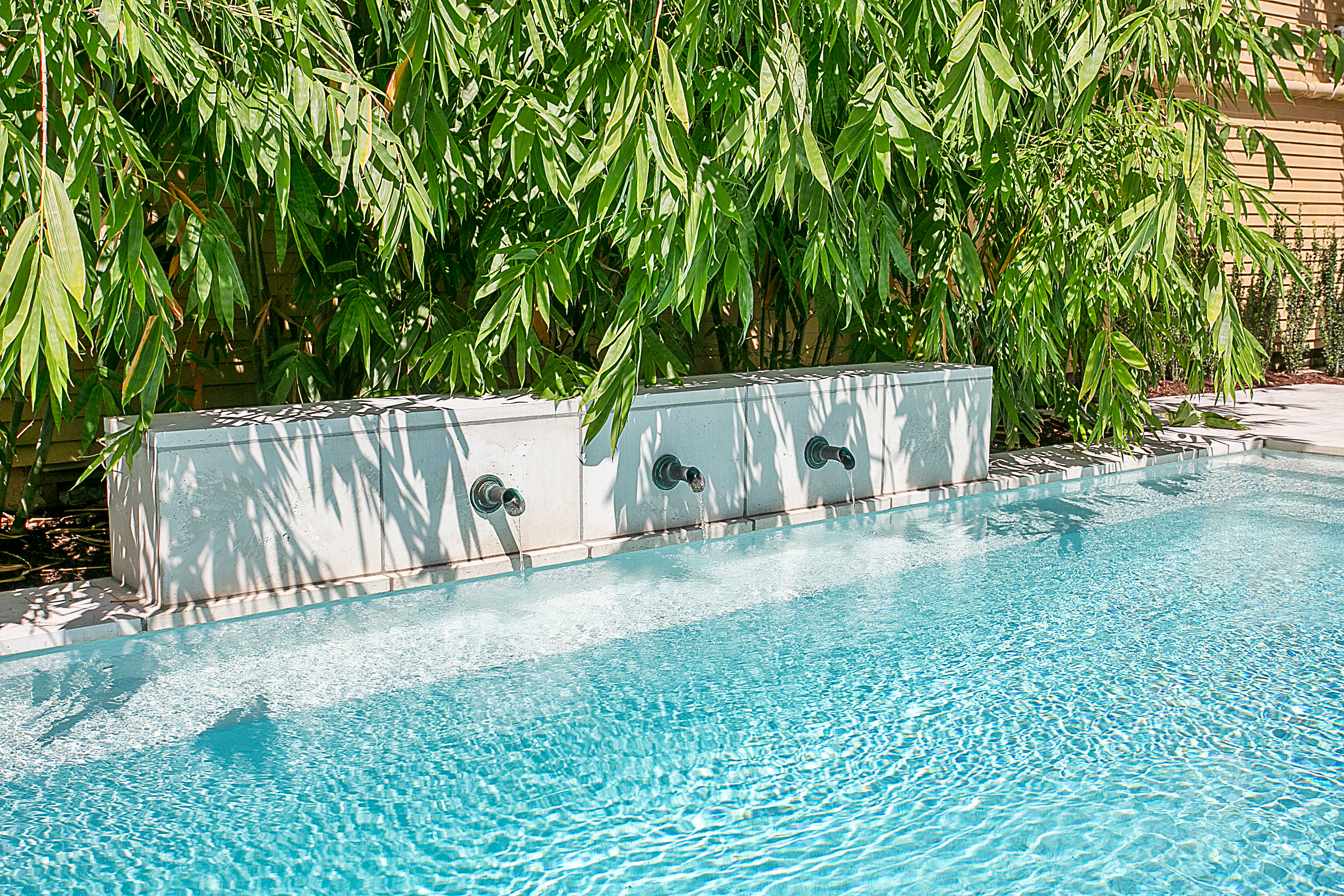 Pool with Water Features in New Orlean