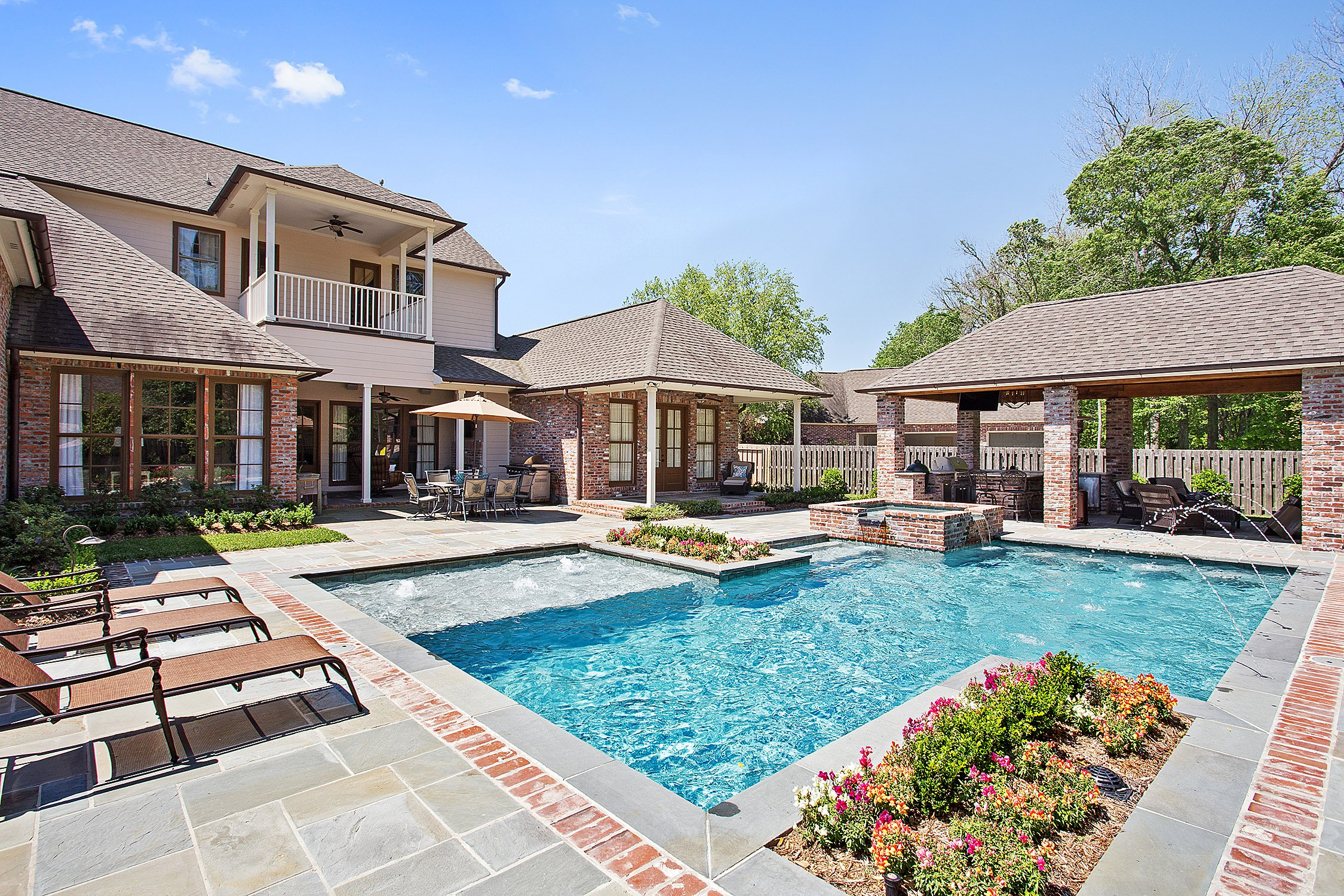 Gunite Pool in Baton Rouge