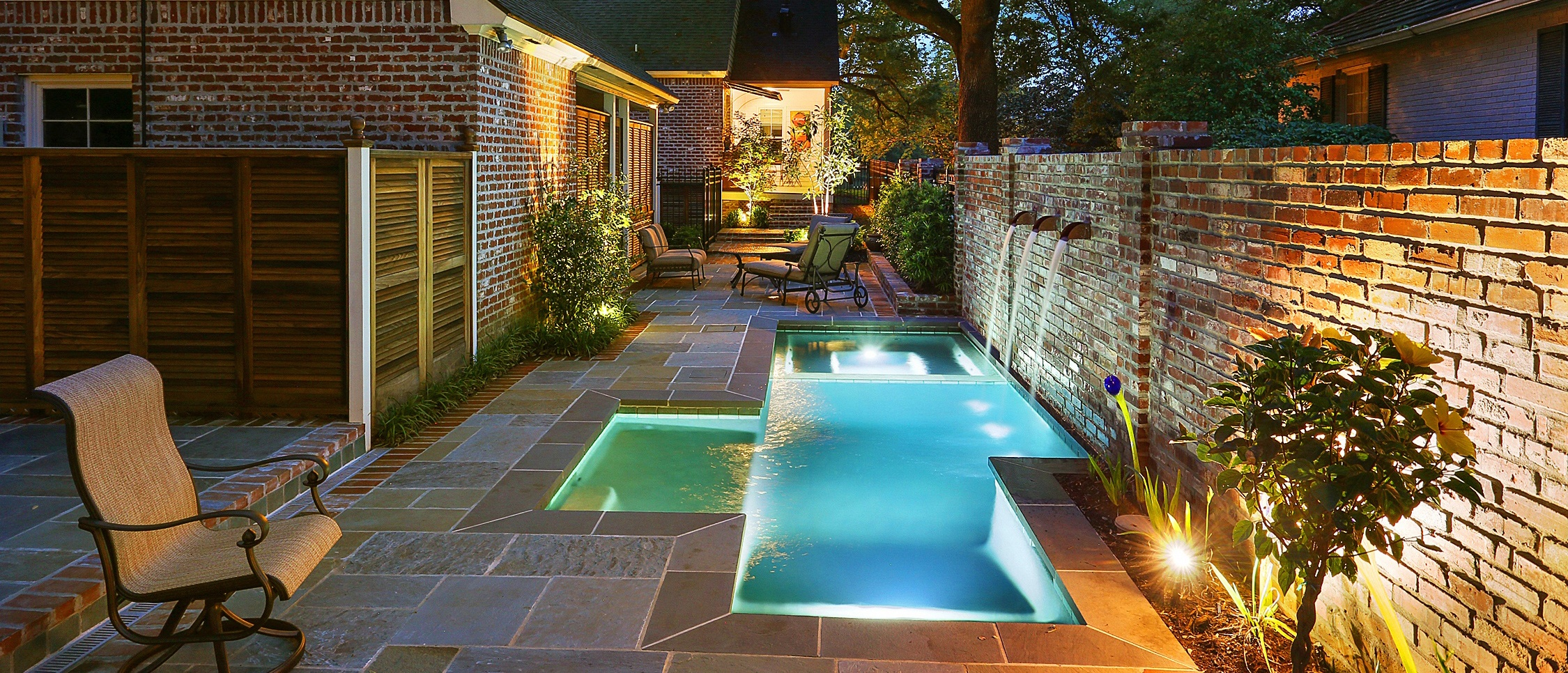 Lucas Firmin Pools Featured in HGTV